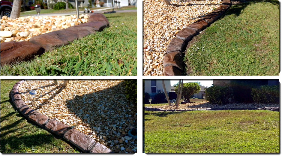Decorative concrete curbing fort myers fl driveway for Landscaping rocks fort myers fl